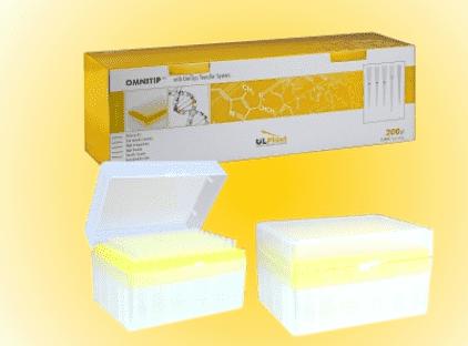 Наконечник OMNITIP 200 мкл стерильний з фільтром